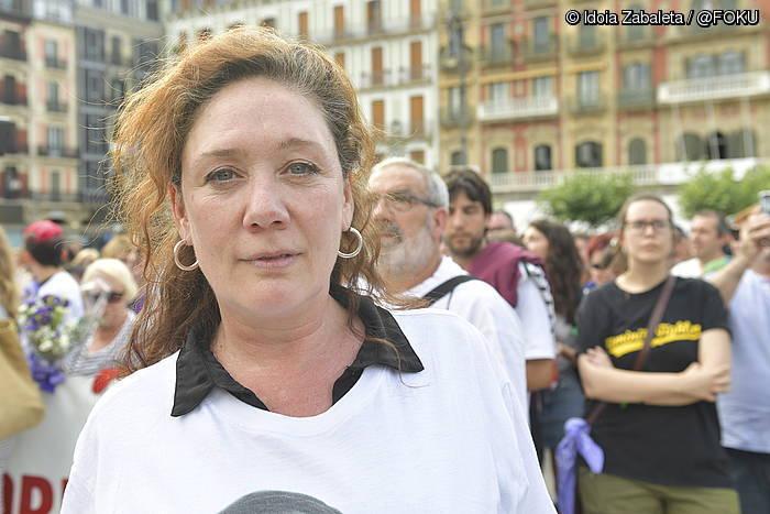 """""""Indarkeriaren aurka egin beharreko lanaren eredu bilakatu da Iruñea"""""""